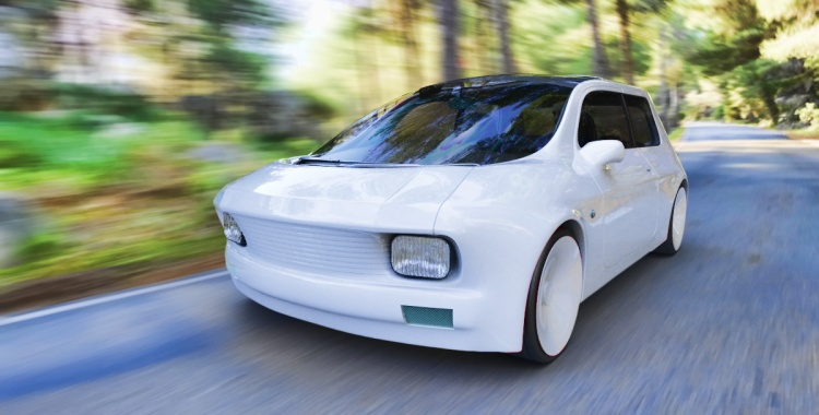 Zugo electric car concept (Creative commons: Milos Paripovic)