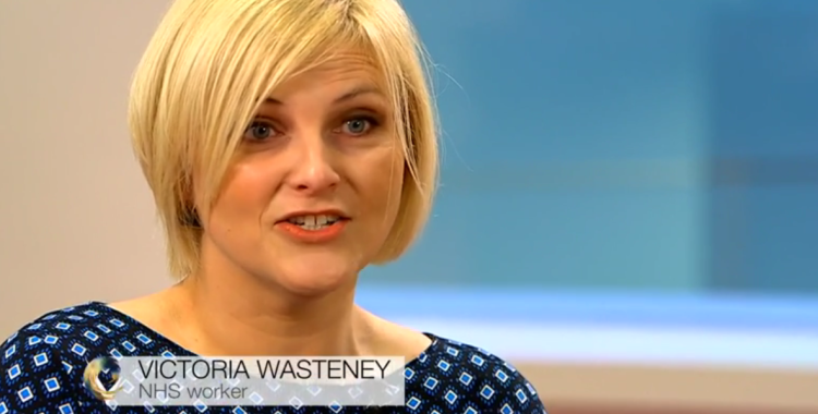 Victoria Wasteney NHS Worker BBC